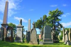 Cemitério do castelo de Stirling Fotos de Stock