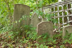 Cemitério do Colonial de Metuchen Foto de Stock