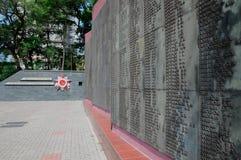 Cemitério do exército vermelho Imagens de Stock Royalty Free