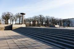 Cemitério do memorial de Piskaryovskoye Imagens de Stock