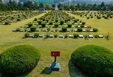 Cemitério do memorial de United Nations fotografia de stock