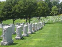 Cemitério do memorial dos veteranos de Vietnam Imagem de Stock