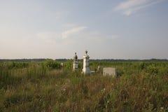 Cemitério do país   Fotografia de Stock Royalty Free