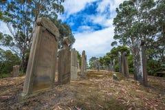 Cemitério do Port Arthur Imagem de Stock Royalty Free