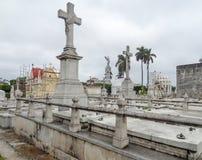 Cemitério dos dois pontos Imagens de Stock