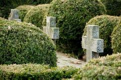 Cemitério dos heróis Fotos de Stock Royalty Free
