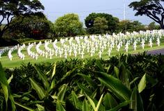 Cemitério dos veteranos foto de stock