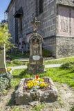 Cemitério e catacumbas de Petersfriedhof no catholi do St Peters Abbey Fotos de Stock Royalty Free