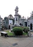 Cemitério em Buenos Aires, Argentina fotos de stock