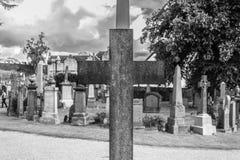 Cemitério em Stirling Imagens de Stock
