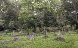 Cemitério em Tanzânia Imagem de Stock Royalty Free