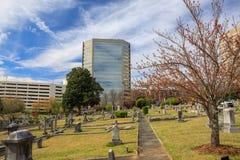 Cemitério Greenville South Carolina de Springwood Fotos de Stock Royalty Free
