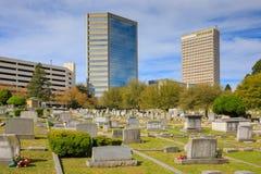 Cemitério Greenville South Carolina de Springwood Imagens de Stock Royalty Free