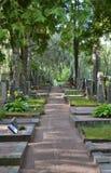 Cemitério Helsínquia Finlandia de Hietaniemi Fotografia de Stock Royalty Free