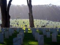 Cemitério histórico da união, San Francisco fotos de stock
