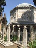 Cemitério Istambul fotografia de stock
