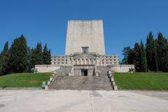 Cemitério italiano do mundo um da guerra no della Battaglia de Nervesa Fotos de Stock