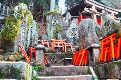 Cemitério japonês Fotos de Stock Royalty Free