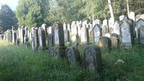 Cemitério judaico Imagem de Stock