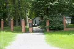 Cemitério judaico - Lezajsk - Polônia foto de stock