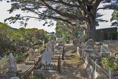 Cemitério judaico na rua Memorial Park de Bolton, Wellington, Nova Zelândia Foto de Stock