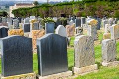 Cemitério judaico velho fotos de stock royalty free