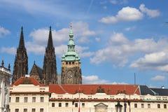 Cemitério judaico velho de Praga fotos de stock royalty free