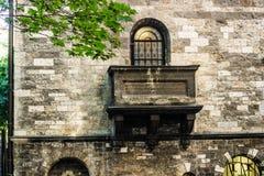 Cemitério judaico velho em Praga Foto de Stock