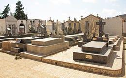 Cemitério na Espanha imagem de stock royalty free