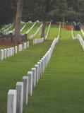 Cemitério nacional imagens de stock royalty free