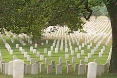 Cemitério nacional de Arlington Fotografia de Stock Royalty Free