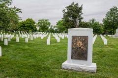 Cemitério nacional de Arlington no Washington DC Fotos de Stock Royalty Free