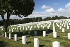 Cemitério nacional de Cabrillo Imagem de Stock