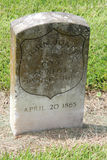 Cemitério nacional de Chalmette Fotografia de Stock Royalty Free