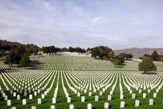 Cemitério nacional de Estados Unidos Imagem de Stock