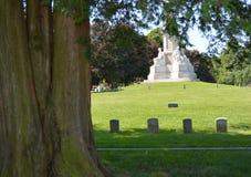 Cemitério nacional Gettysburg dos soldados Imagens de Stock Royalty Free