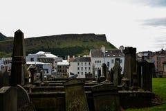 Cemitério novo de Calton Fotografia de Stock
