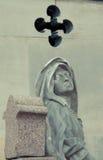 Cemitério Pere Lachaise Fotografia de Stock