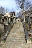 Cemitério Pere Lachaise. Imagens de Stock