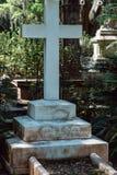 Cemitério Savannah Georgia de Mary Walter Cemetery Statuary Statue Bonaventure imagem de stock