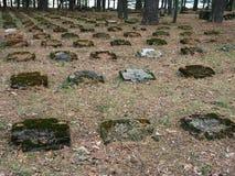 Cemitério velho Imagens de Stock