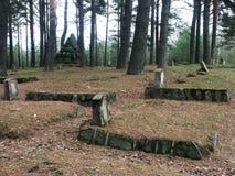 Cemitério velho Fotos de Stock Royalty Free