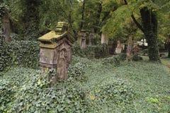 Cemitério velho Foto de Stock Royalty Free