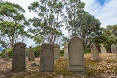 Cemitério velho Imagem de Stock Royalty Free