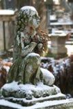 Cemitério velho com estátuas Imagem de Stock