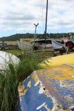 Cemitério velho do barco Imagem de Stock