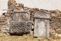Cemitério velho dos italianos em Buje, Croácia Fotos de Stock Royalty Free