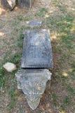 Cemitério velho dos italianos em Buje, Croácia Imagem de Stock Royalty Free