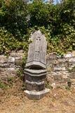 Cemitério velho dos italianos em Buje, Croácia Imagens de Stock