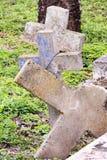 Cemitério velho histórico da cidade em Brownsville, Texas foto de stock royalty free